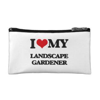 Amo a mi jardinero de paisaje