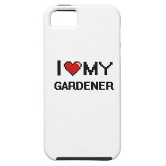 Amo a mi jardinero funda para iPhone 5 tough