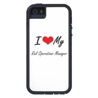 Amo a mi jefe de explotación del carril iPhone 5 fundas