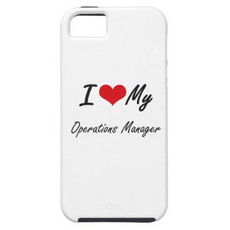 Amo a mi jefe de explotación funda para iPhone 5 tough