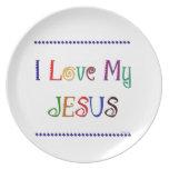 Amo a mi Jesús Platos