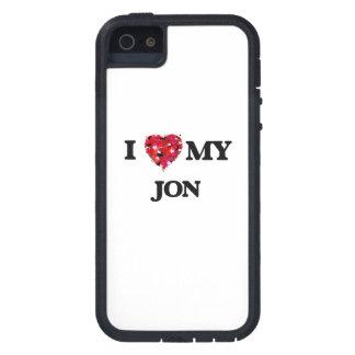 Amo a mi Jon iPhone 5 Carcasa