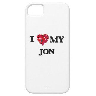 Amo a mi Jon iPhone 5 Funda