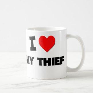 Amo a mi ladrón tazas