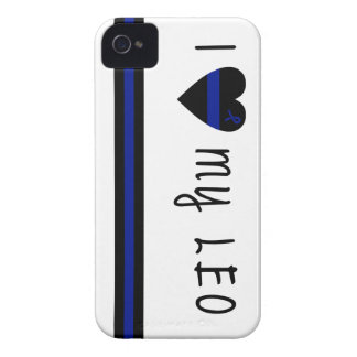 Amo a mi LEO Case-Mate iPhone 4 Funda