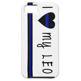 Amo a mi LEO iPhone 5 Funda