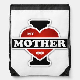 Amo a mi madre al infinito mochilas