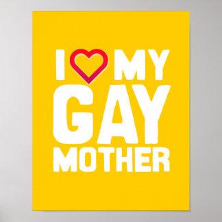 AMO A MI MADRE GAY - - .PNG IMPRESIONES