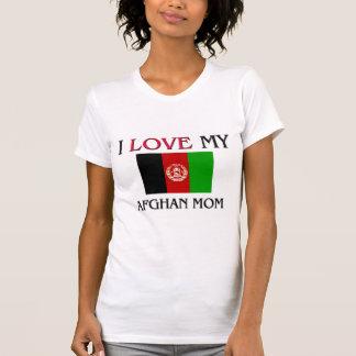 Amo a mi mamá afgana camisetas