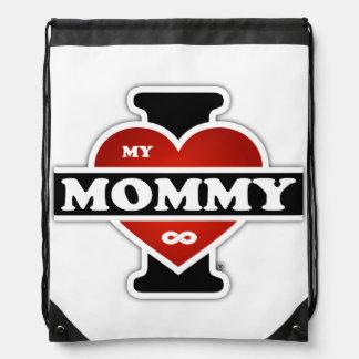 Amo a mi mamá al infinito mochilas