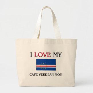 Amo a mi mamá caboverdiana bolsa