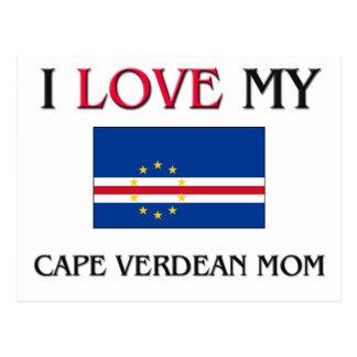 Amo a mi mamá caboverdiana postal
