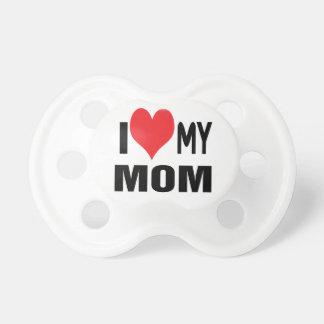 Amo a mi mama chupete de bebe