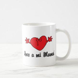 Amo a mi Mama Classic White Coffee Mug
