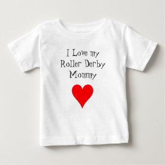 Amo a mi mamá de Derby del rodillo Camisas