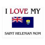 Amo a mi mamá de Helenian del santo Postales