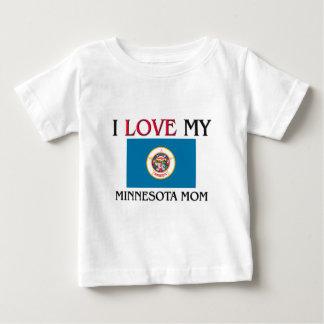 Amo a mi mamá de Minnesota Playera
