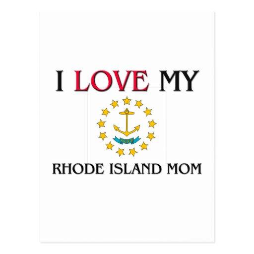 Amo a mi mamá de Rhode Island Postal