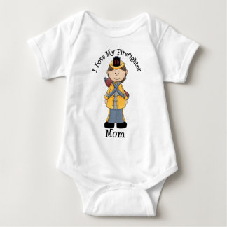 Amo a mi mamá del bombero tshirts