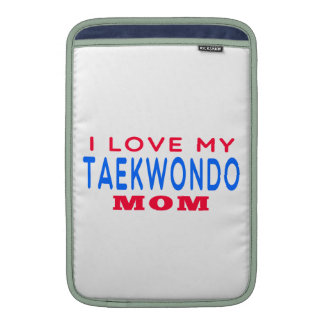 Amo a mi mamá del Taekwondo Funda MacBook