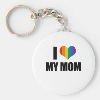 Amo a mi mamá gay llavero