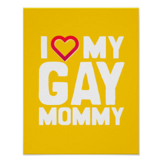 AMO A MI MAMÁ GAY - - .PNG POSTERS