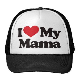 Amo a mi mamá gorras