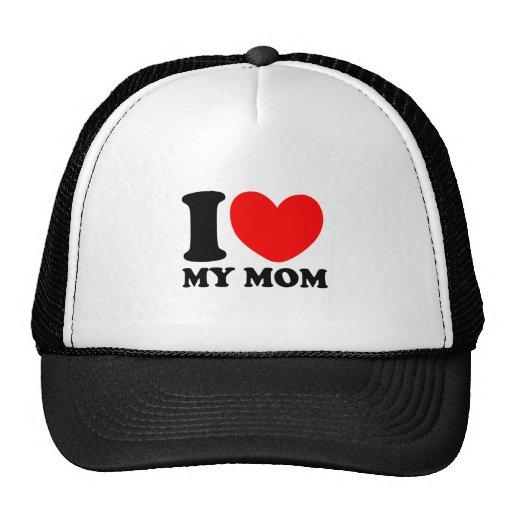 Amo a mi mamá gorras de camionero