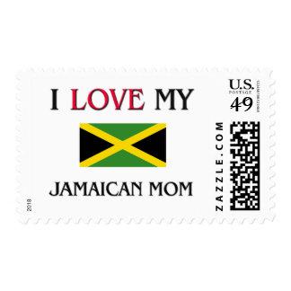 Amo a mi mamá jamaicana franqueo