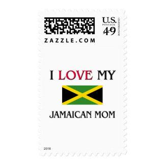 Amo a mi mamá jamaicana sello