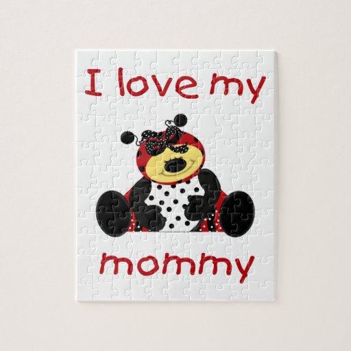 Amo a mi mamá (la mariquita del chica) puzzle