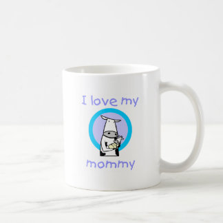 Amo a mi mamá (la vaca) taza