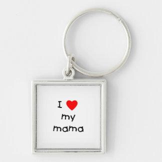 Amo a mi mamá llaveros