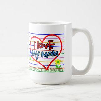 Amo a mi mamá taza de café