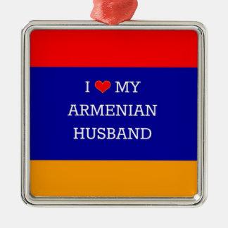 Amo a mi marido armenio ornamentos para reyes magos