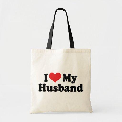 Amo a mi marido bolsas