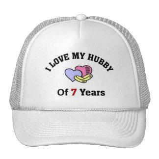 Amo a mi marido de 7 años gorro