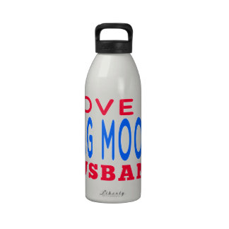 Amo a mi marido de la gama del MOO de Chungkin Botella De Agua Reutilizable