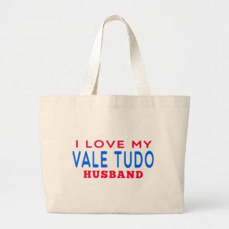 Amo a mi marido de Tudo del valle Bolsas De Mano
