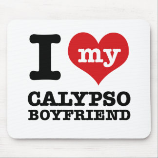 Amo a mi marido del Calypso Tapetes De Raton