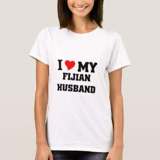 Amo a mi marido del Fijian Playera