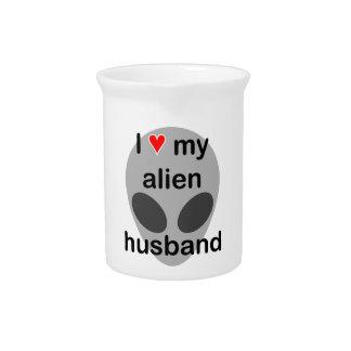 Amo a mi marido extranjero jarras para bebida