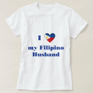 Amo a mi marido filipino 1 playeras