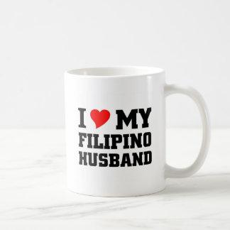 Amo a mi marido filipino taza