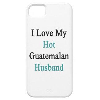 Amo a mi marido guatemalteco caliente iPhone 5 fundas