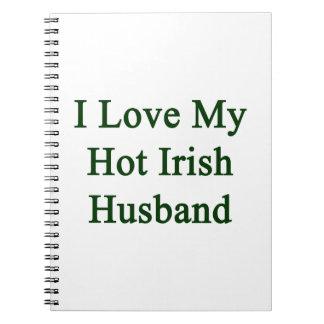 Amo a mi marido irlandés caliente cuaderno