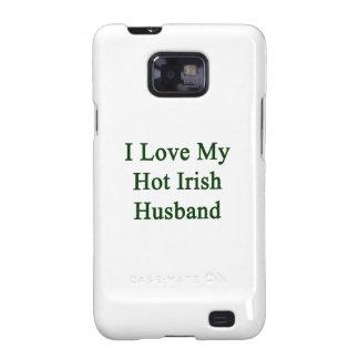 Amo a mi marido irlandés caliente galaxy s2 carcasas