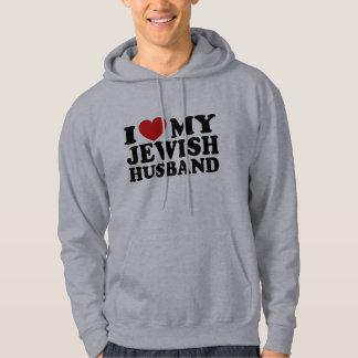 Amo a mi marido judío sudadera