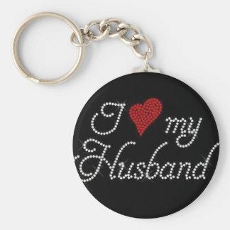 Amo a mi marido llaveros