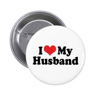 Amo a mi marido pins